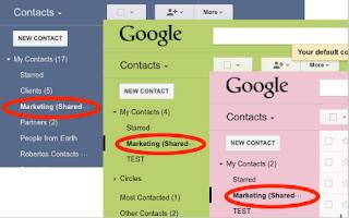 contact sharing print screen